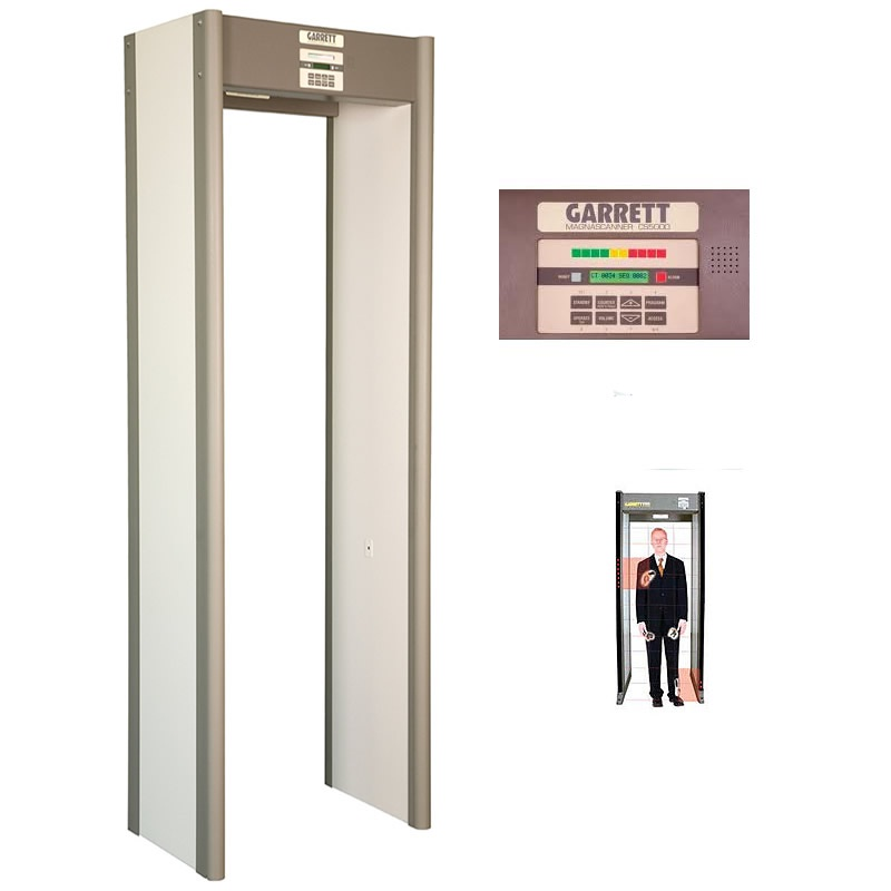 Walk Through Metal Detector Garrett CS5000