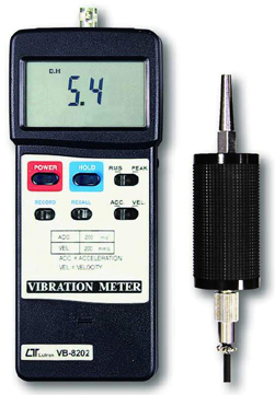 Vibration Meter Lutron VB-8202