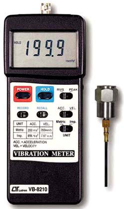 Vibration Meter Lutron VB-8210