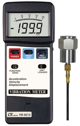 Vibration Meter Lutron VB-8213
