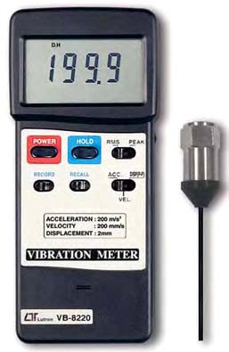 Vibration Meter Lutron VB-8220