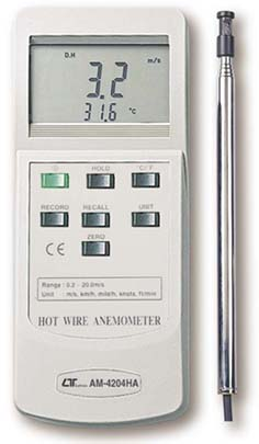 Anemometer Lutron AM-4204HA - Click Image to Close