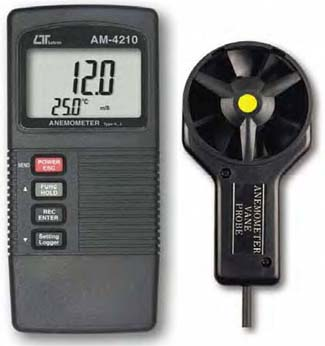 Anemometer Lutron AM-4210 - Click Image to Close
