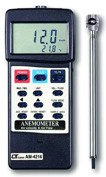 Anemometer Lutron AM-4216 - Click Image to Close