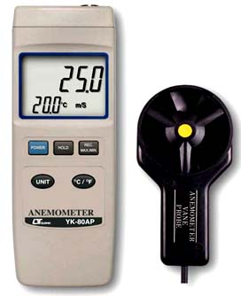 Anemometer Lutron YK-80AP - Click Image to Close