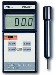 Conductivity Meter Lutron CD-4301