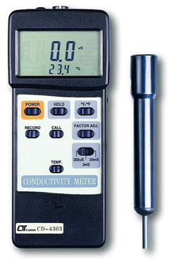 Conductivity Meter Lutron CD-4303