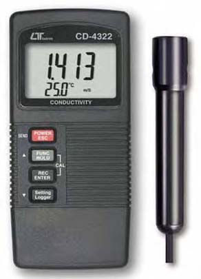 Conductivity Meter Lutron CD-4322