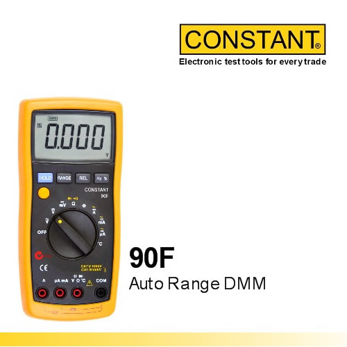 Digital Multimeter Auto Range Constant 90F
