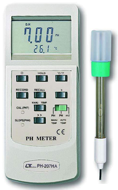 PH-Meters Lutron PH-207HA