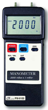 Manometer Lutron PM-9100