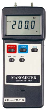 Manometer Lutron PM-9102