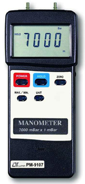 Manometer Lutron PM-9107