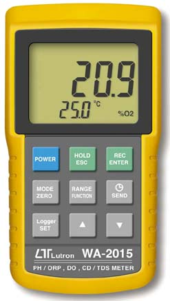 pH/ORP, DO, CD/TDS Meter WA-2015