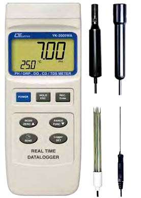 PH/ORP, DO, CD/TDS METER YK-2005WA