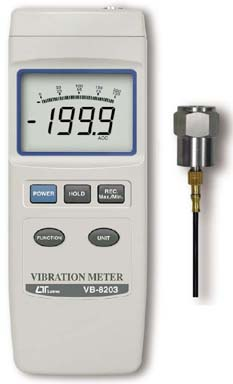 Vibration Meter Lutron VB-8203
