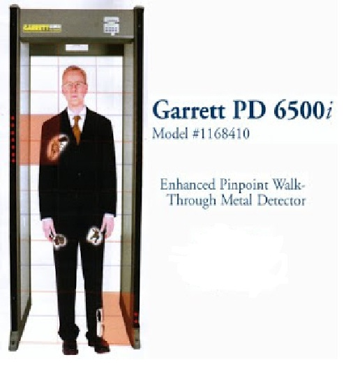 Walk Through Metal Detector Garrett PD6500i