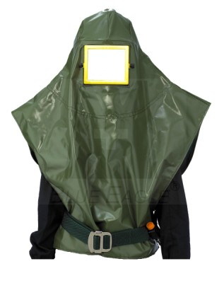 AIR-SUPPLIED SANDBLAST HOOD NP503