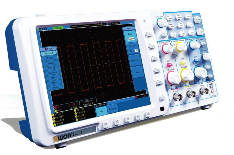 Digital Oscilloscope SDS8202 200Mhz
