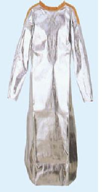 Alumized Apron with sleeves AL6